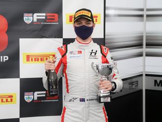 BRDC British F3 Podium Finish For Bart Horsten In Silverstone Thriller