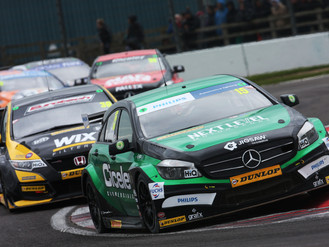 Oliphant Battles Back To Impressive Maiden BTCC Top Ten