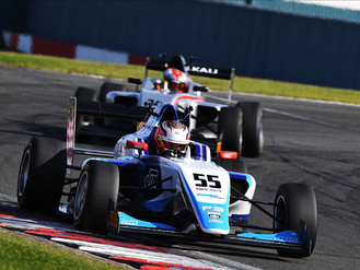 Triple BRDC British F3 Podium Haul For Douglas Motorsport At Donington Park