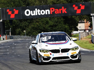 Maiden British GT Podium For Andrew Gordon-Colebrooke At Oulton Opener
