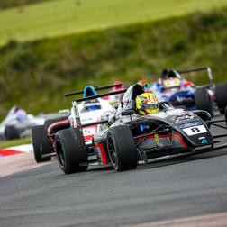 Podium Glory For Argenti Motorsport At Thruxton