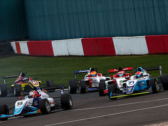 Double Donington Park Podium Keeps Douglas Motorsport In F3 Title Hunt