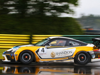 Jack McCarthy Stars In The Croft Rain To Challenge For Overall Victory
