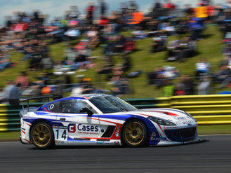Will Burns Salvages Podium Finish From Luckless Croft Weekend
