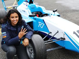 Douglas Motorsport's Reema Juffali Earns Best BRDC British F3 Result At Silverstone