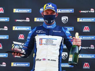 Will Burns Battles To Ginetta Podium Double At Brands Hatch