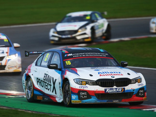 Oliphant Ends 'Special' BTCC Season On A High At Brands Hatch