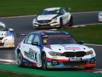 Tom Oliphant Ends 'Special' BTCC Season On A High At Brands Hatch
