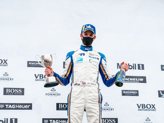 Will Martin Scores Double Podium At Silverstone