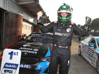 Tom Oliphant Takes Sensational Maiden BTCC Win At Brands Hatch
