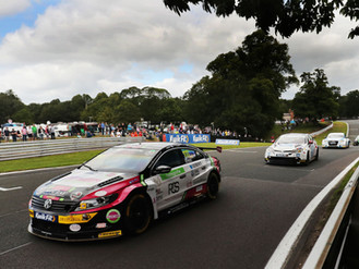 Michael Crees Continues BTCC Learning Curve At Scorching Oulton Park