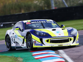 Blake Angliss Enjoys Ginetta GT4 SuperCup Podium Battle At Thruxton