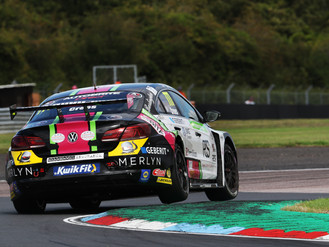 Michael Crees Buoyed By Improvements After Strong Thruxton BTCC Showing