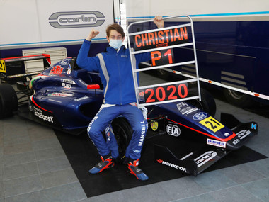 Christian Mansell Crowned 2020 British F4 Rookie Cup Champion