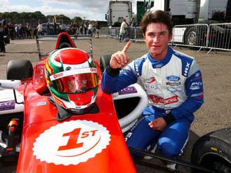 Priaulx Caps Off 2018 In Style With Second British F4 Win