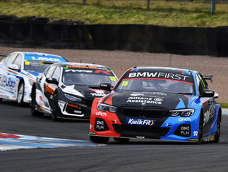 Oliphant Grinds Out Trio Of Points Finishes At Knockhill