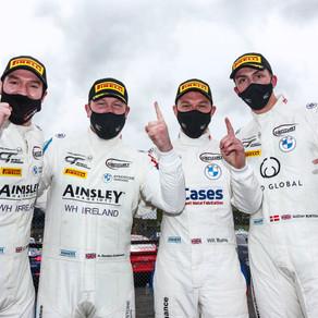 Gordon-Colebrooke Seals Stunning Pro-Am Class Win In British GT Opener