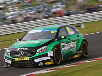 Oliphant Gets Back In The Points In Home BTCC Event