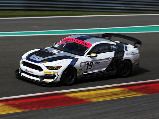 Andy Priaulx Enjoys Fantastic British GT Debut In Belgium