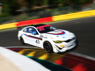 Andrew Gordon-Colebrooke Shows His Speed During Difficult Trip To Spa