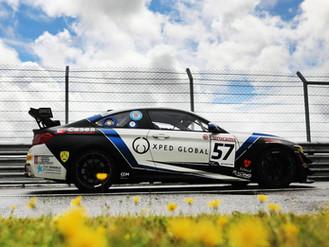 Will Burns Stars At Snetterton With Brilliant British GT Podium Finish