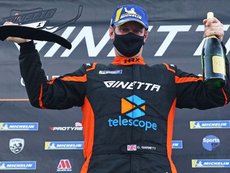 Carl Garnett Stars With Maiden Ginetta GT4 SuperCup Victories At Oulton Park