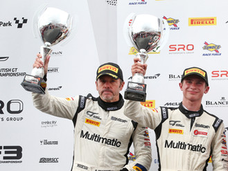 Sebastian Priaulx Fights To The End With British GT Finale Podium