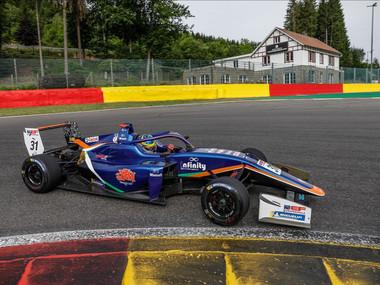 Christian Mansell Stars On Euroformula Open Debut At Spa-Francorchamps