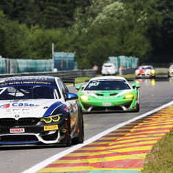 Will Burns Scores Brilliant British GT Podium Finish At Spa