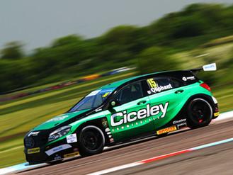 Oliphant Enjoys High-Speed Thrills On Thruxton Return