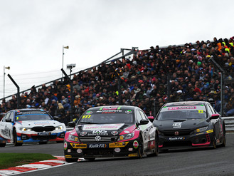 Michael Crees Completes Maiden BTCC Season At Brands Hatch