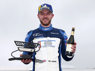 Will Burns Stars At Donington Park With Ginetta GT4 SuperCup Victory
