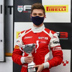 Bart Horsten Secures Stunning Silverstone Podium In British F3 Season Finale