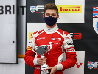 Bart Horsten Secures Stunning Silverstone Podium In British F3 Season Finale
