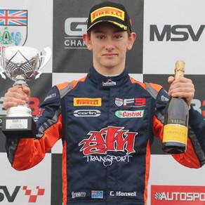 Christian Mansell Seals Third In GB3 Championship With Donington Podium