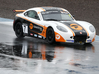 Johnson Impresses In Knockhill Rain To Take Sixth Place Double