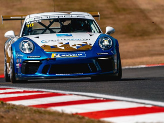 Will Martin Claims Points Finish In Challenging Carrera Cup GB Weekend