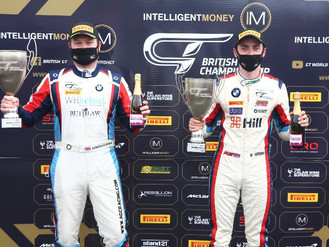 Andrew Gordon-Colebrooke Seals Podium In Brands Hatch British GT Thriller