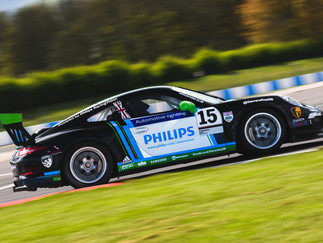 Oliphant Produces Podium Challenges During Promising Donington Weekend