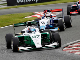Douglas Motorsport Take Oulton Park Win And Surpass 100 BRDC British F3 Races
