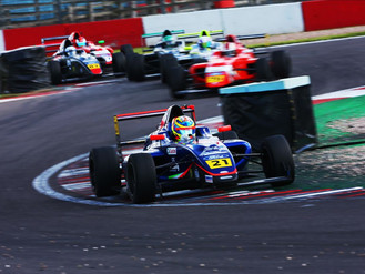 Christian Mansell Claims Brace Of British F4 Rookie Cup Podium Finishes On Debut