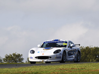 Top Ten Result For Ginetta Rookie Blake Angliss On Donington Park Debut