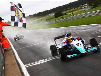 Douglas Motorsport Shine At Soggy Snetterton With Superb British F3 Victory