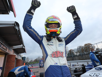 Christian Mansell Crowned 2020 British F4 Rookie Cup Champion At Brands Hatch