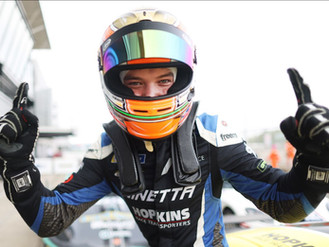 Will Jenkins Scores Stunning First Ginetta Win In Silverstone Podium Hat-Trick