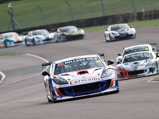 Will Burns Closes On Points Lead With Double Thruxton Podium