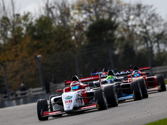 Bart Horsten Charges To Top-Seven British F3 Result At Donington Park