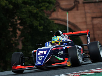 Christian Mansell Grabs Dramatic Fourth GB3 Podium At Oulton Park