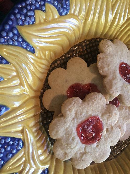 GF Shortbread Thumbprint Cookies/Cookie