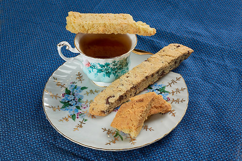 Gluten-Free Double Chocolate Almond Biscotti